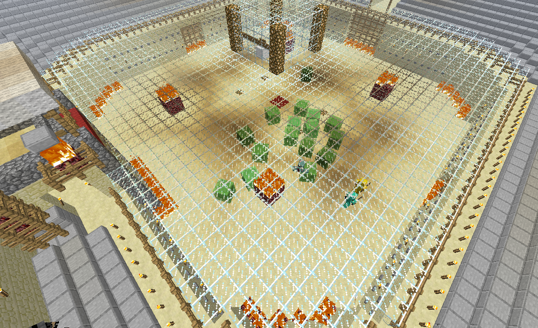 minecraft mob arena map download